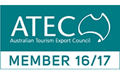 Australian Tourism Export Council membership logo