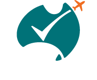 The International Tourism Health And Safety Checklist logo. Endorsed by Tourism Australia and ATEC the program records a tourism operators health and safety information that may be requested by inbound tour operators.